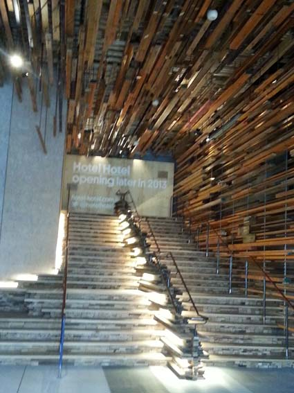 The Grand Staircase, in the Nishi Building foyer by March Studio Melbourne