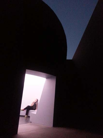 experiencing WithinWithout at the National Gallery of Australia.