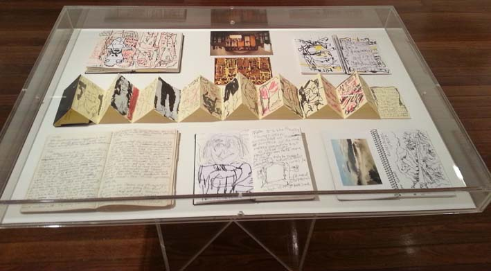 Roy Jackson notebooks and sketchbooks.