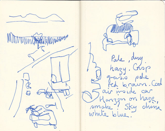 Page 2, road sketches, 10 February 2014.