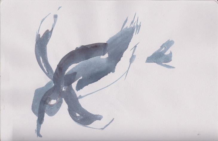 The Little Penguin, AKA, the Blue Penguin, AKA the Fairy Penguin, watercolour, 9 January 2015