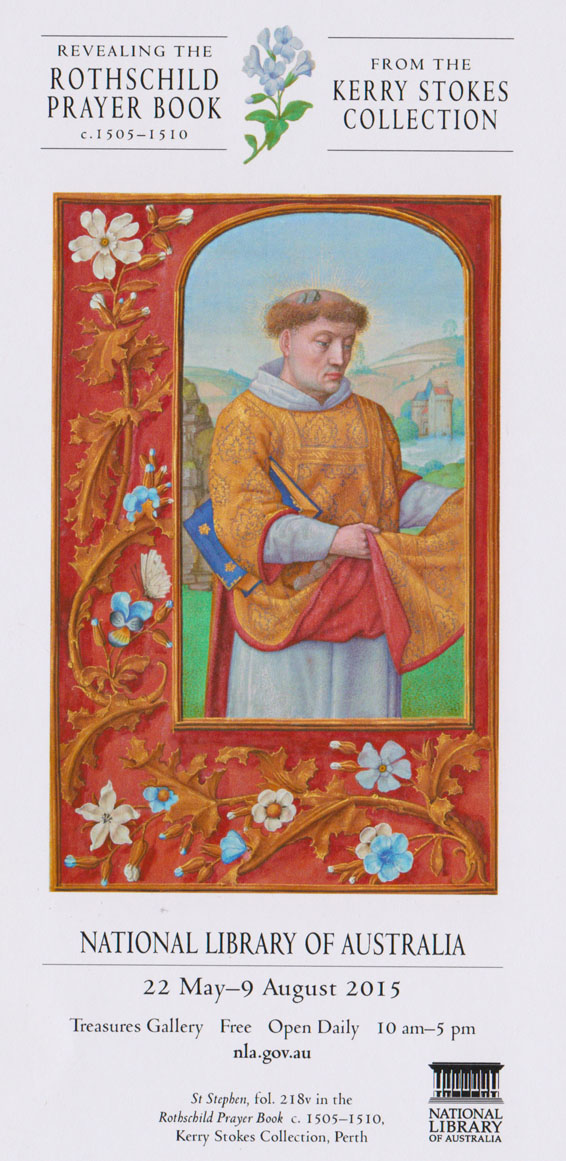 St Stephen from the Rothschild Prayer Book