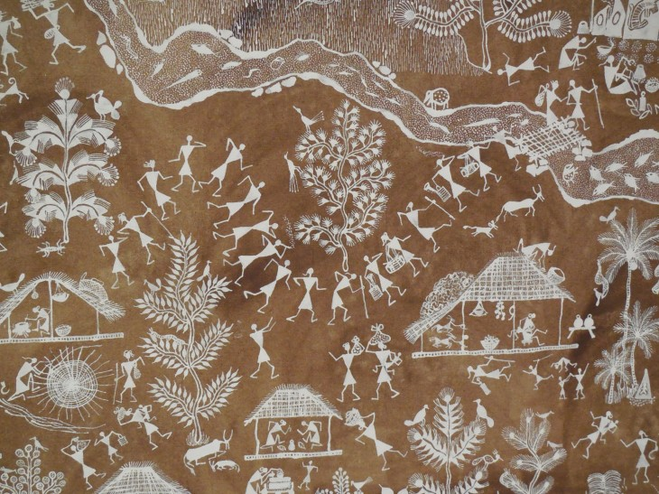 Detail of Diwali, by Rajesh Chaitya Vangad