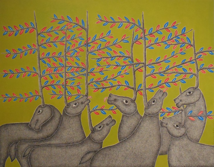 Under the Tree, 2015, Venkat Raman Singh Shyam