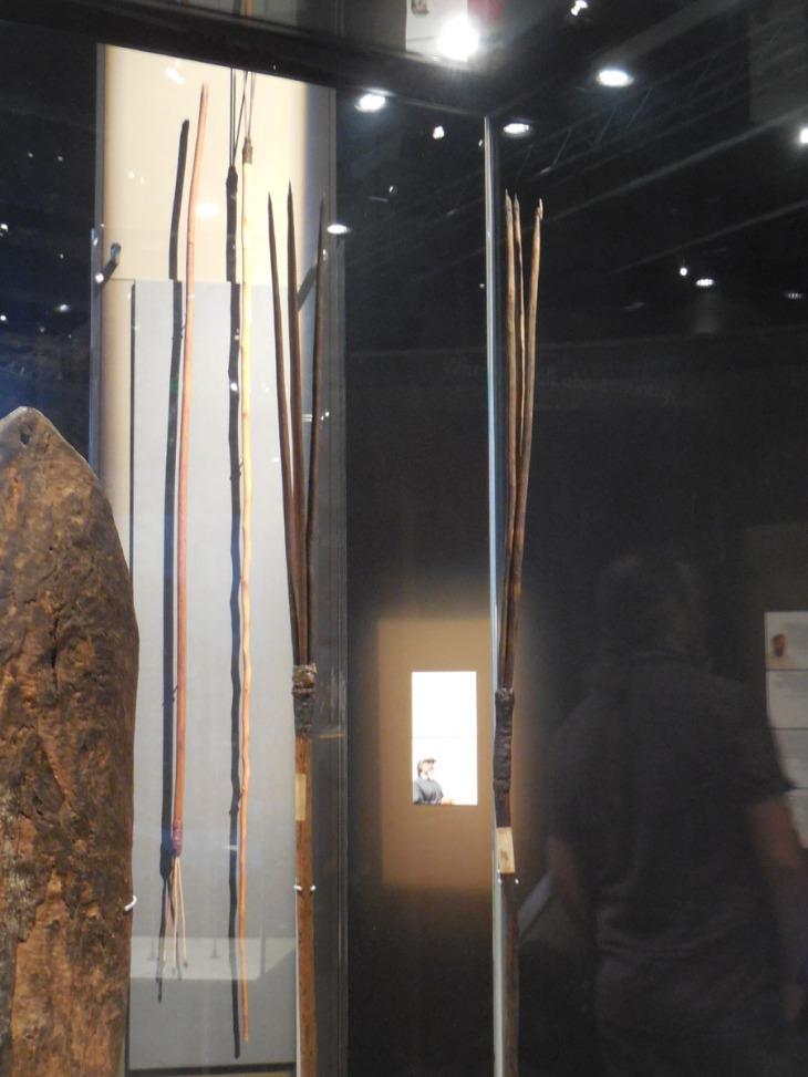 Gweagal spears