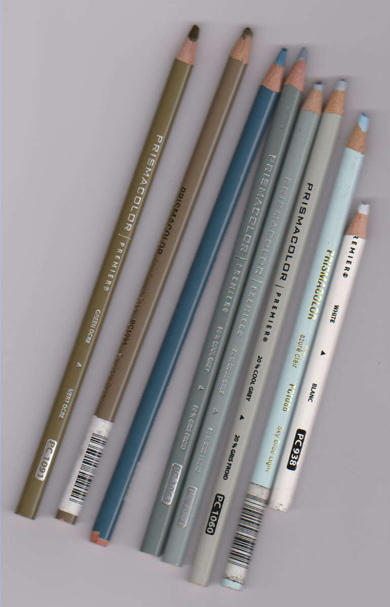 New pencils, ohh goody!