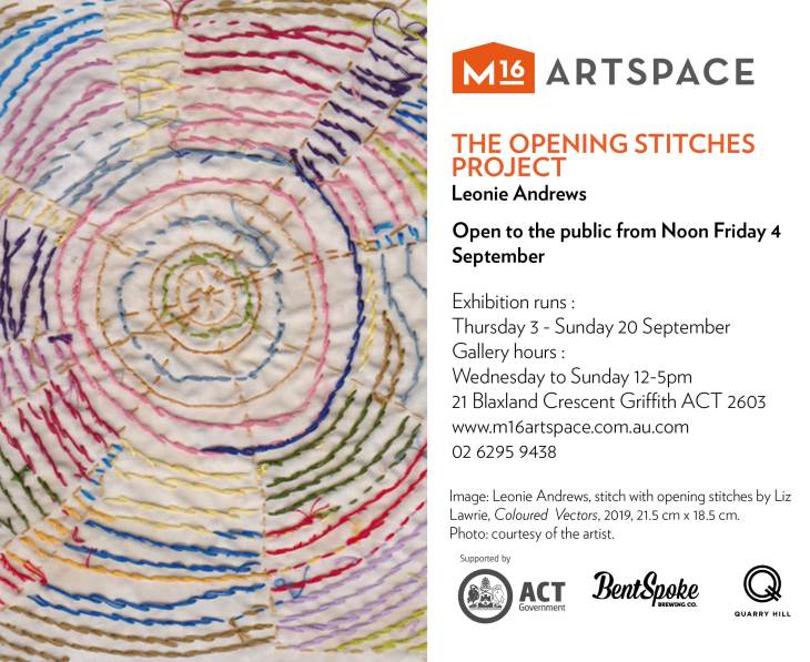 THE OPENING STITCHES PROJECT